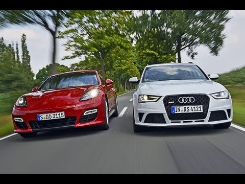 Porsche Panamera GTS vs. Audi RS 4 - Die lassen