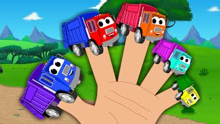 Garbage Truck Finger Family
