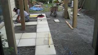 Patio Build Time-lapse