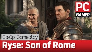 Ryse: Son of Rome PC co-op gameplay