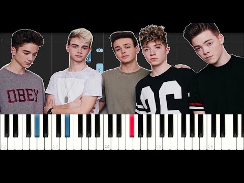 Why Don't We - Nobody Gotta Know (Piano Tutorial)