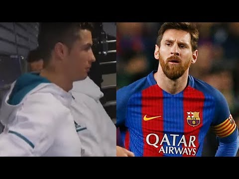 Cristiano Ronaldo Caught DISSING Lionel Messi on Camera in Real Madrid Tunnel