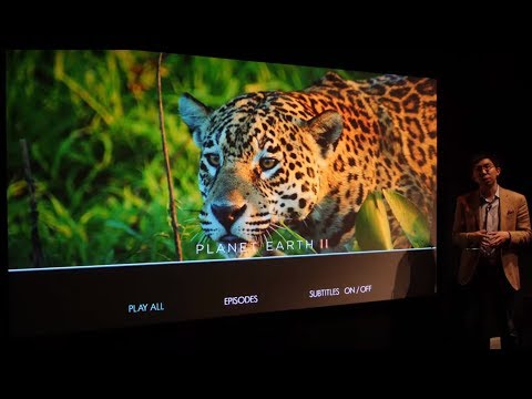 Sony VPL-VW870ES €25k Laser Projector Hands-On First Look