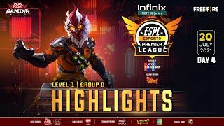ESPL 2021 | Day - 33 Highlight | July 20