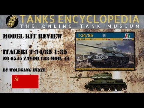 T-34/85 from Italeri in 1/35 - TE Modelling Video #6