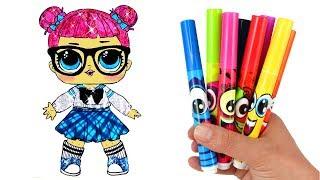 How to Draw LOL Doll Teacher