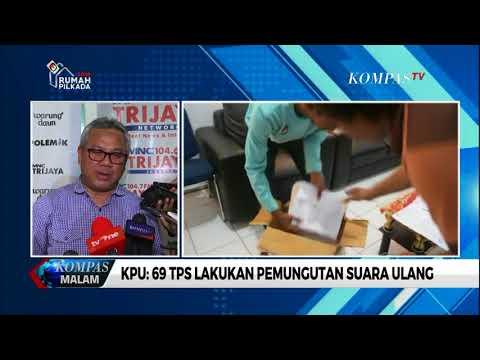 KPU: 69 TPS Lakukan Pemungutan Suara Ulang