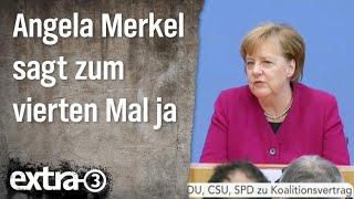 Christian Ehring: Angela Merkel sagt zum vierten Mal ja
