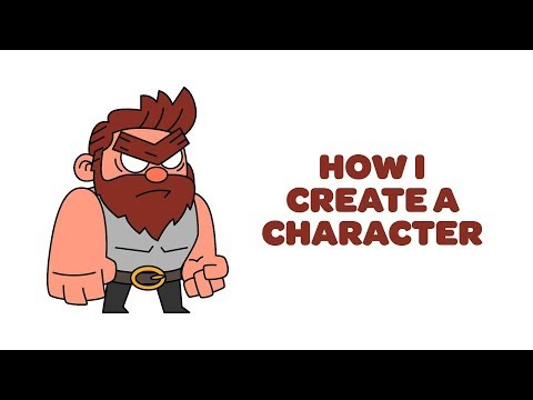 How I Create A Character Design | Photoshop And Illustrator Tutorial