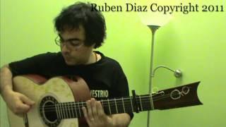 Compas por Tangos (tapado) 5 Flamenco Guitar Lesson / GFC estudio Malaga Ruben Diaz & CFGstudio