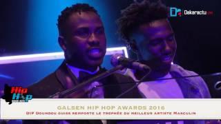 Dip Doundou Guiss remporte le trophée du meilleur artiste masculin (Hip Hop Galsen awards)