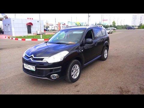 2010 Ситроен С-Кроссер. Обзор (интерьер, экстерьер, двигатель).