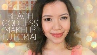 Easy Beach Goddess Summer Makeup Tutorial Thumbnail