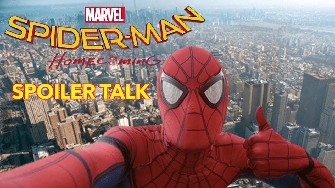 Spider-Man: Homecoming Spoiler Talk