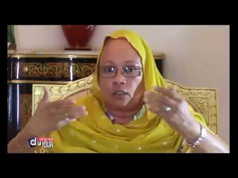 Entretien avec Mme Habré à la DTV du 30 mai 2016