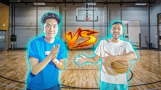 RICEGUM vs BRAWADIS BASKETBALL 1v1! Ex-Girlfriend Bet!