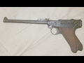 Quick first function test of a 1917 DWM Artillery Luger using 7 rounds