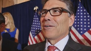Rick Perry Lays Down a Challenge to Donald Trump