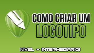 Corel DRAW - Como criar um logotipo - nivel intermediario