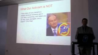 David Silverman American Atheists Warwick 12/13/14 PT1