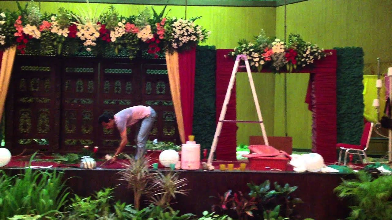 Cara Bikin Bunga Dekorasi Pelaminan Satya Dekorasi