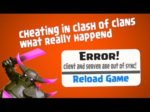 Clash Of Clans - Cheating? What Really Happend!