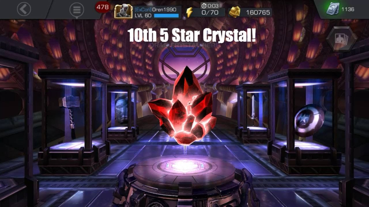 10th 5 Star Crystal!! + Duel | Marvel Contest of Champions