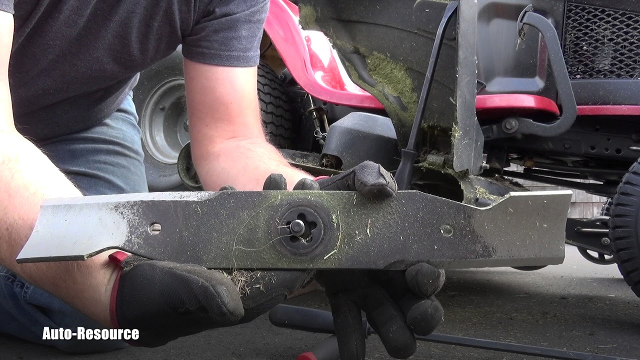 How To Replace Blades On Craftsman Riding Mower