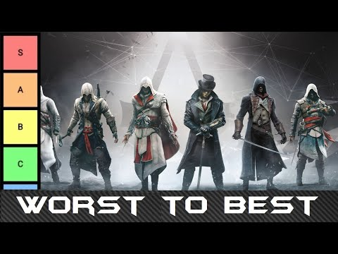 Worst To Best: Assassin's Creed Main Protagonists (Tier List)