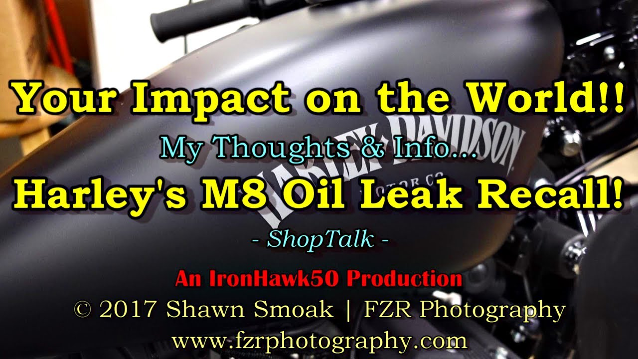 Your Impact on The World!! • Harley's M8 Oil Leak Recall! | ShopTalk
