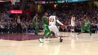 Marcus Smart Highlights vs Cleveland Cavaliers (12 pts, 9 reb, 3 ast)