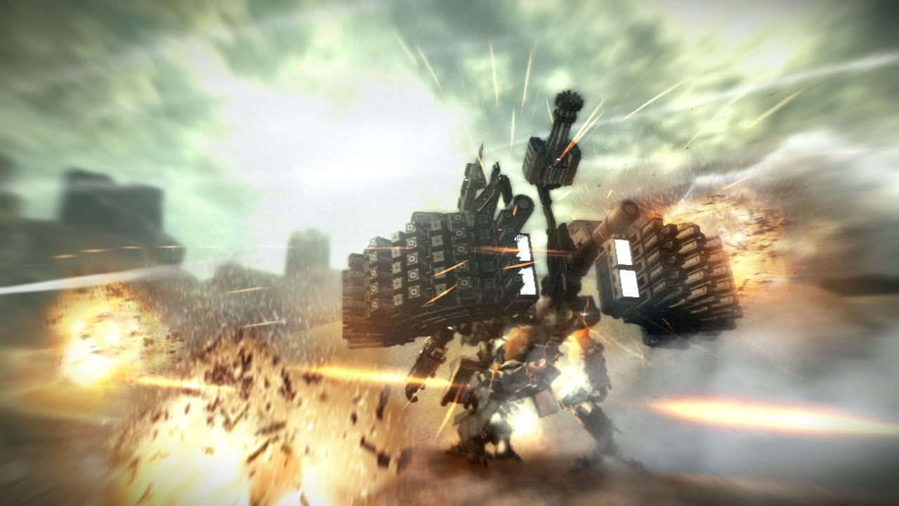 First 30 Minutes Armored Core V Xbox360 Ps3 Part 1 2 Youtube