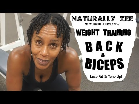 WEIGHT TRAINING 4 Fat Loss & Toning – Back n' Biceps Workout