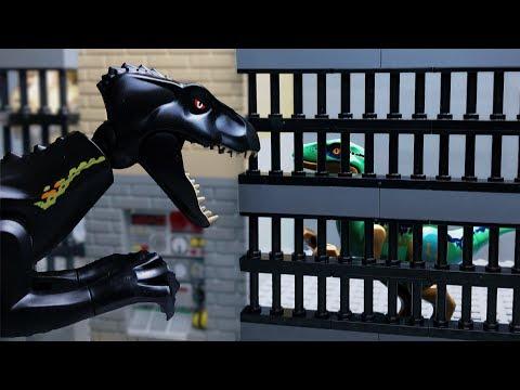 LEGO Jurassic World 2 🔴 Dinosaurs in the City- 1(Escape)
