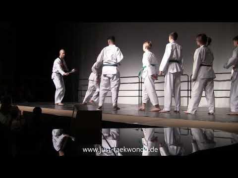 just Taekwondo performs at open day at International School of Hamburg 17.11.2018 - Full show
