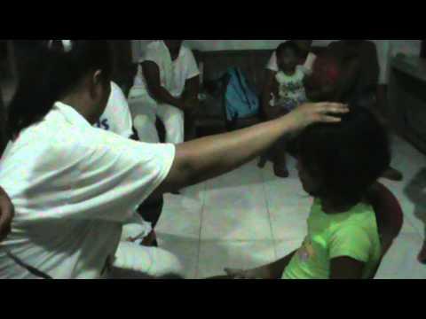 Jesus Christ is the healer foundation mission event in Zamboanguita , Negros Oriental, Philippines