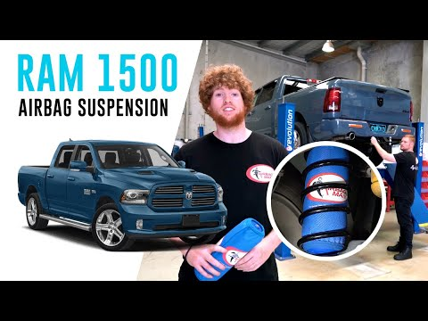 How To Install: Dodge RAM 1500 Air Suspension – CR5159HP Airbag Man Coil Helper Kit