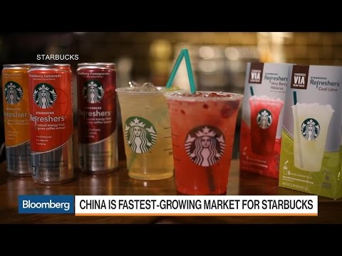 Starbucks Chases China Market With New Tea Line