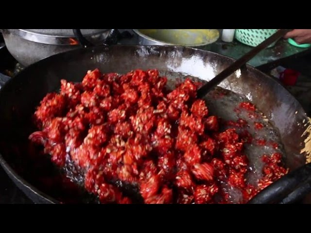 Indian Street Food - Chinese Pakoda | Cabbage manchurian | Gobi Manchurian
