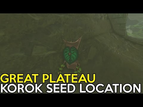 All Korok Seeds Location In Great Plateau - Legend Of Zelda Breath Of The Wild