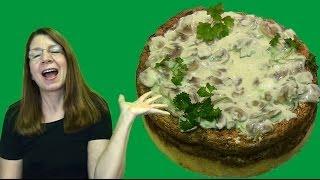Unbelievable Chicken Cheesecake! Recipe: Sprig Barton's Finest!