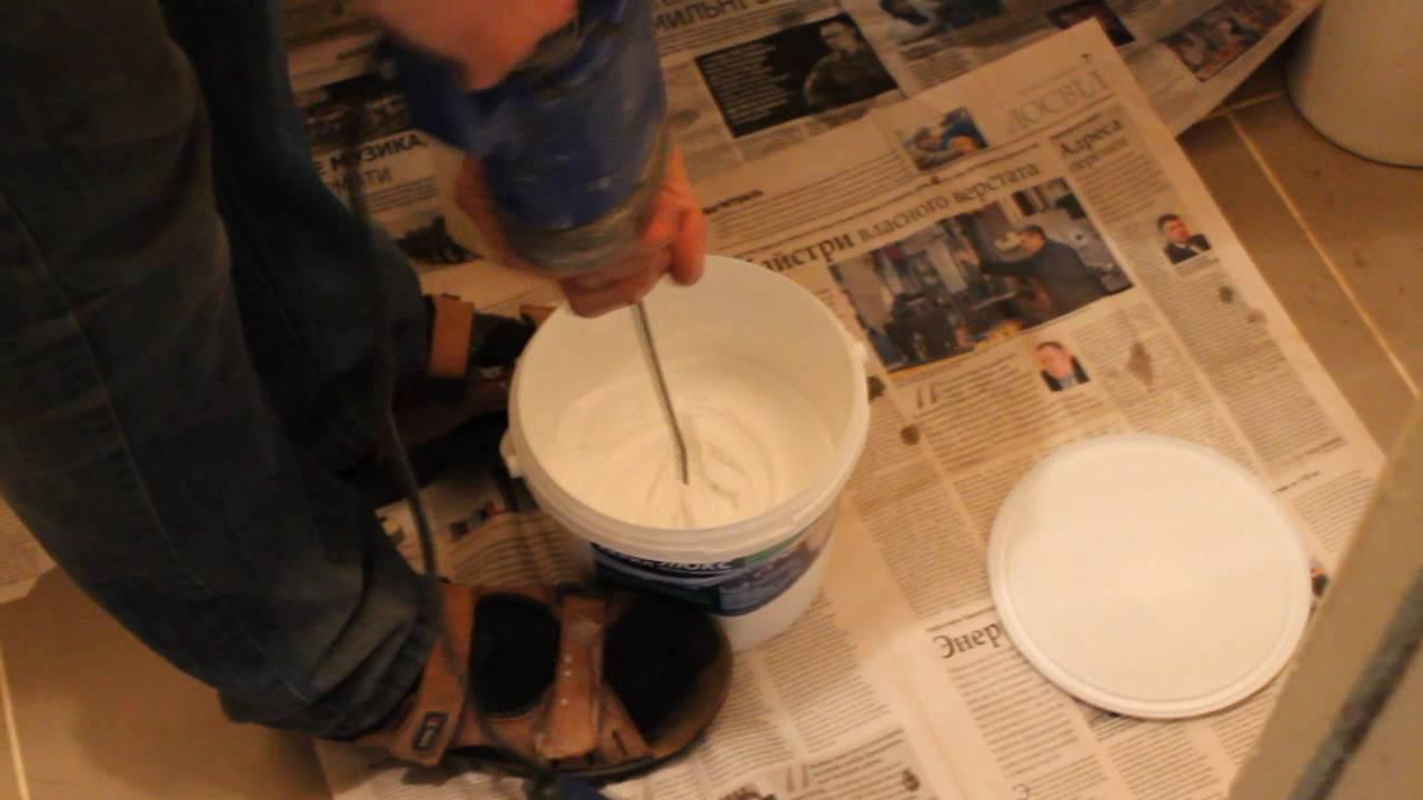 🔨 Реставрация ванны своими руками, жидкий акрил.