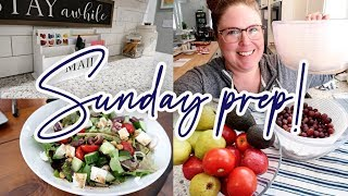 😀 WEEKEND PREP! 🛒 MEAL PLAN + GROCERY HAUL 🥗 COOKING + WASHING PRODUCE 🥦 BUSY WORKING MOM