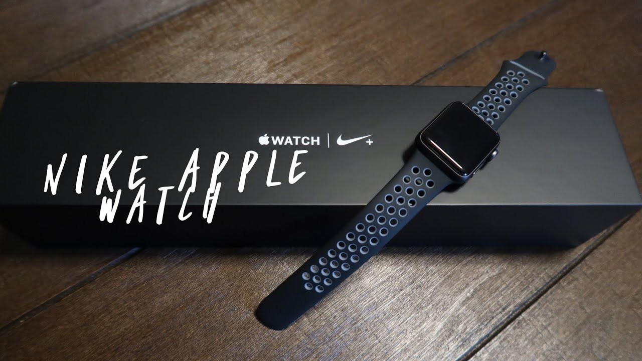 148ae98b9dc4de Unboxing Apple Watch Series 2 Nike+ Edition 38mm - YouTube