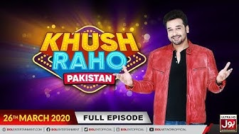 Khush Raho Pakistan | Faysal Quraishi Show | 26th March 2020 | BOL Entertainment