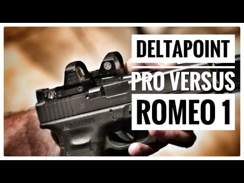 Better Optic? Leupold Deltapoint Pro vs  Sig Sauer Romeo 1 - Battle of Two  good Red Dot Optics!