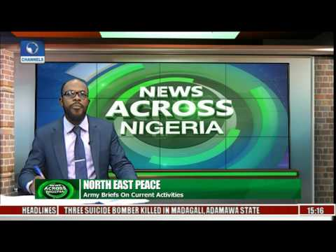 News Across Nigeria: Army Briefs On Current Activities