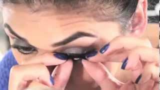 Vidéo: un maquillage ultra-glamour avec les faux cils Ardell 203