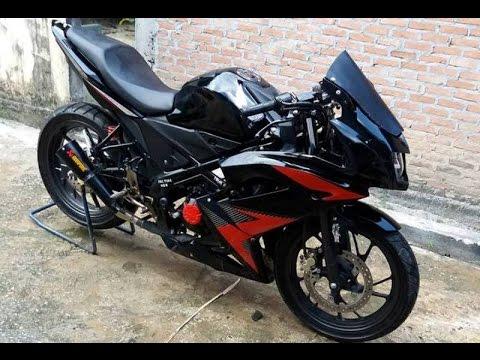Cah Gagah | Video Modifikasi Motor Honda CB150R Full Fairing Keren Terbaru
