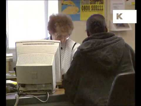 1990s UK Job Centre, Unemployment